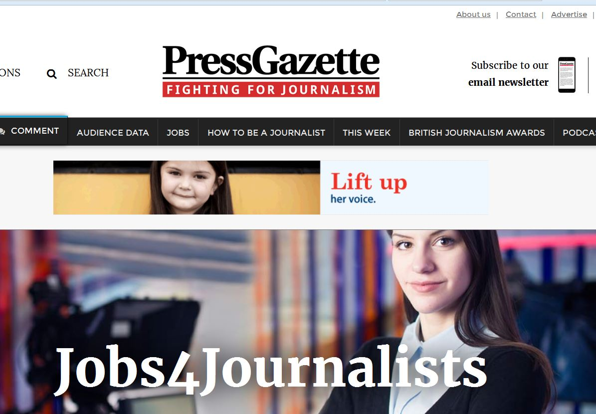 Jobs4Journalists: All the latest journalism jobs