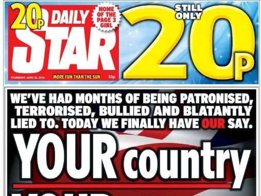 National press ABCs for August 2016: Daily Star slips back month-on-month after price rise
