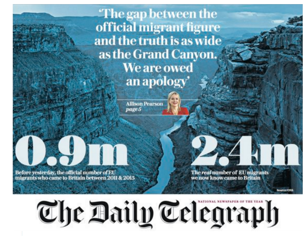 Inaccurate newspaper stories misled the British public when they voted 'Leave' says founder of pro-EU fact-checking website
