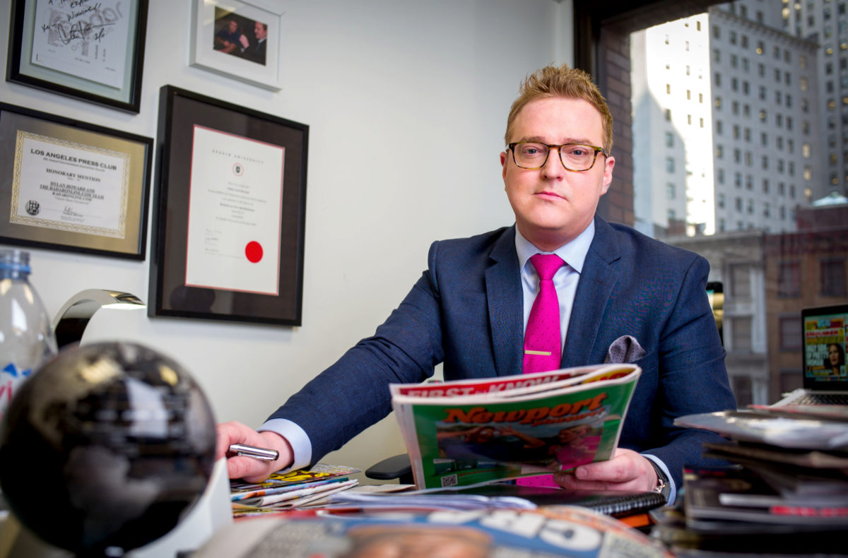 National Enquirer editor Dylan Howard: 'British tabloids have gone soft and we're making up for it'