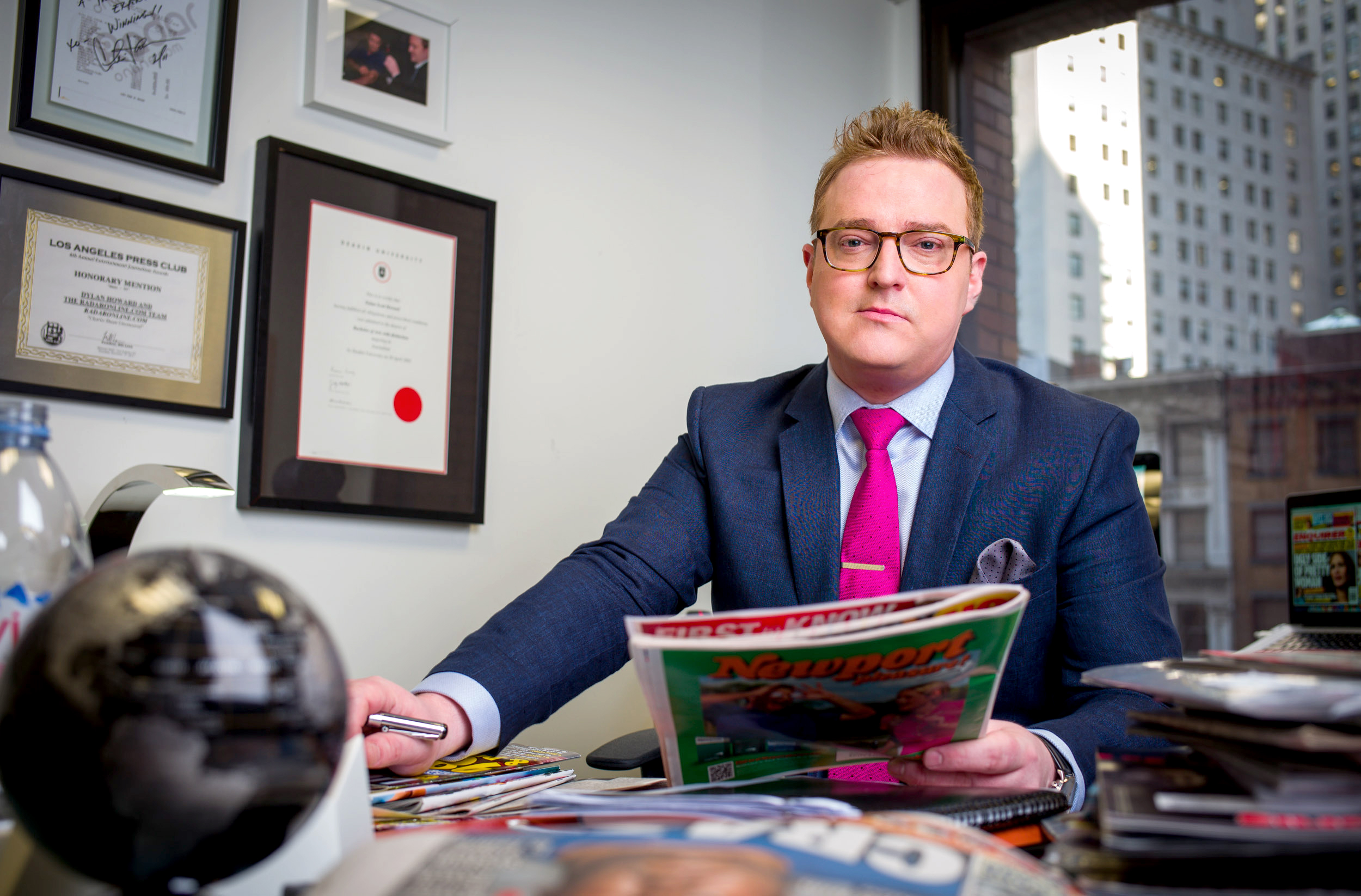 Dylan Howard, editor in chief and vice president of the National Enquirer