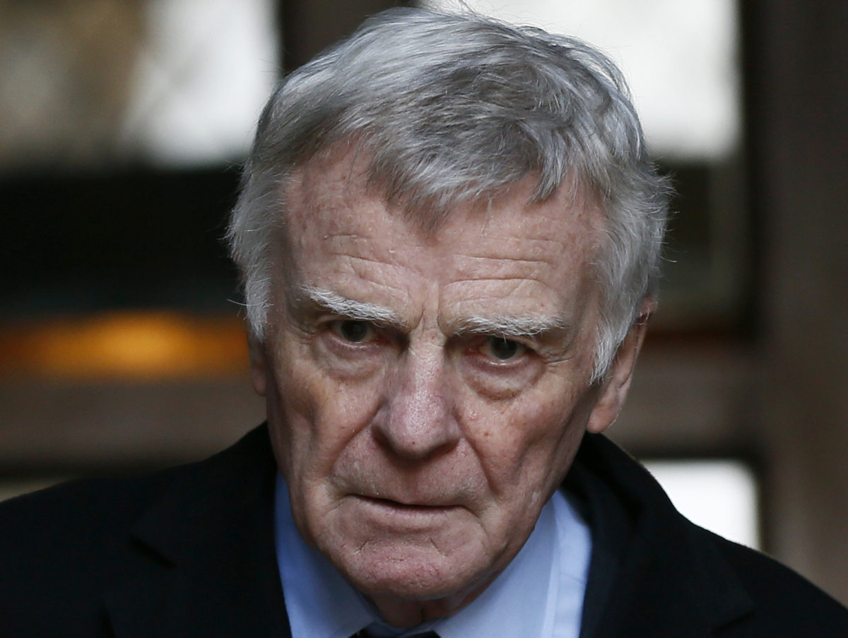 Labour will not accept any more donations from Max Mosley after 'racist' pamphlet uncovered by Daily Mail
