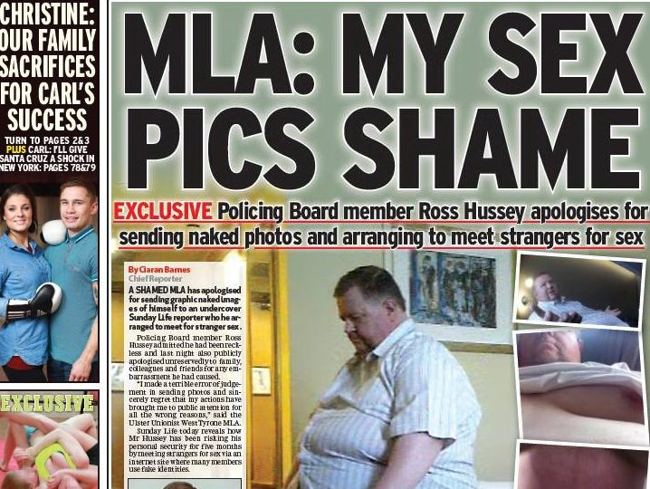 Belfast's Sunday Life prompts 200 IPSO complaints over naked dating pics of single politician