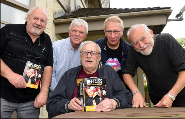 Regional sports writer who befriended Alex Higgins publishes memoirs to mark 80th birthday