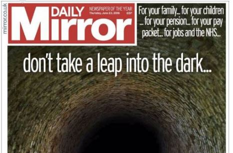 Trinity Mirror reveals 17 per cent drop in print ad revenue and says 'mitigating actions' needed after Brexit vote