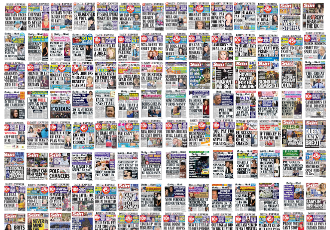 Guest blog: Why Britain's vote in favour of Brexit was a victory for press propaganda