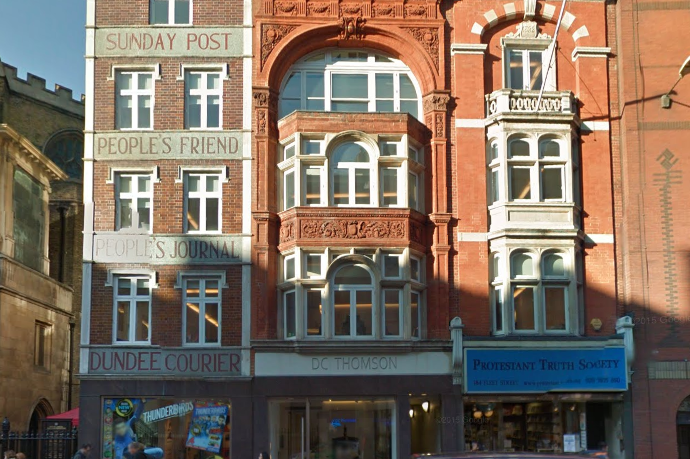 End of an era as Sunday Post set to move last newspaper journalists from Fleet Street