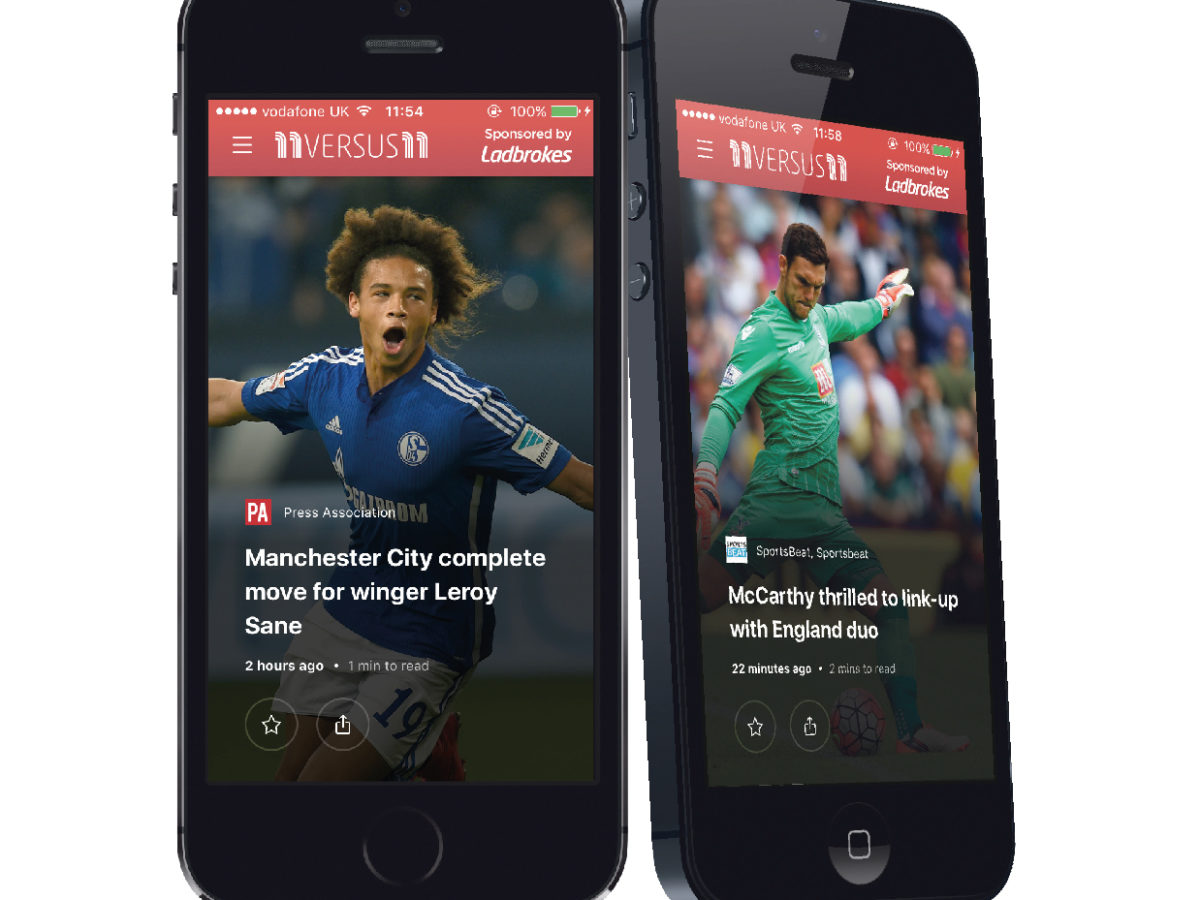 Metro launches personalised football mobile news app 11versus11