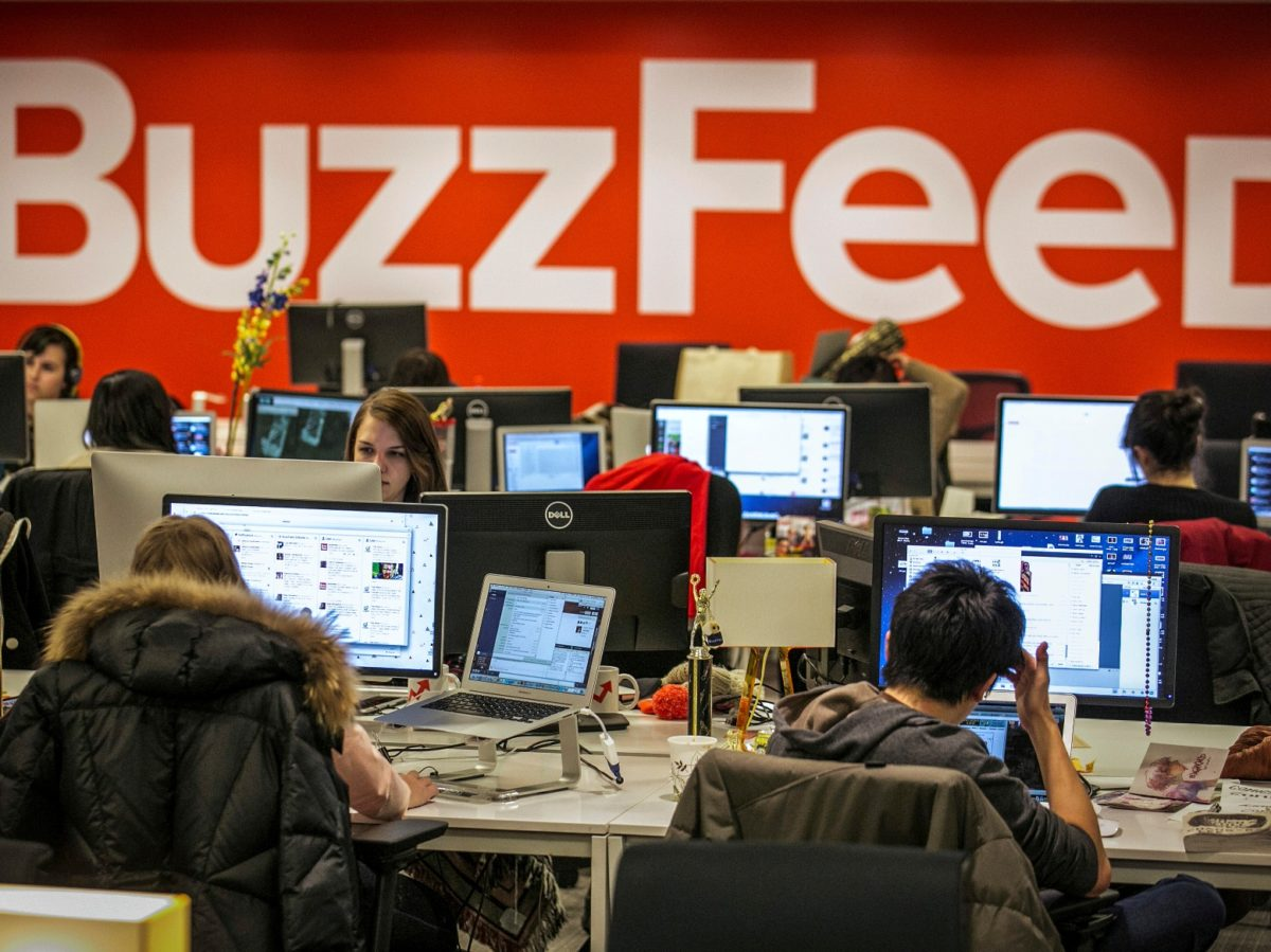 Buzzfeed UK reports loss of £9.4m in 2018 as turnover falls