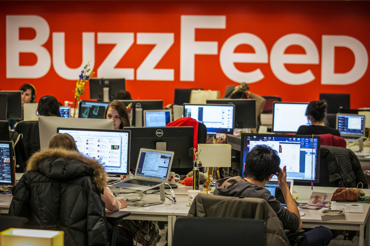 Buzzfeed to cut 15 per cent of overall workforce in restructure feared to affect UK