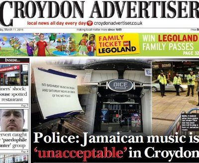 Trinity Mirror boss hits back at claims Croydon Advertiser printing 'clickbait', says days when reporters wrote about interests are 'over'