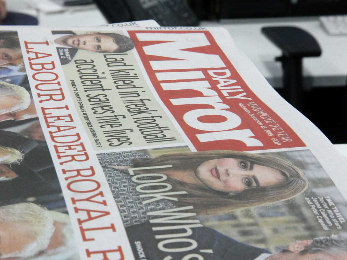 Judge will hear ex-police chief's libel suit against claim he grabbed Daily Mirror journalist's phone records