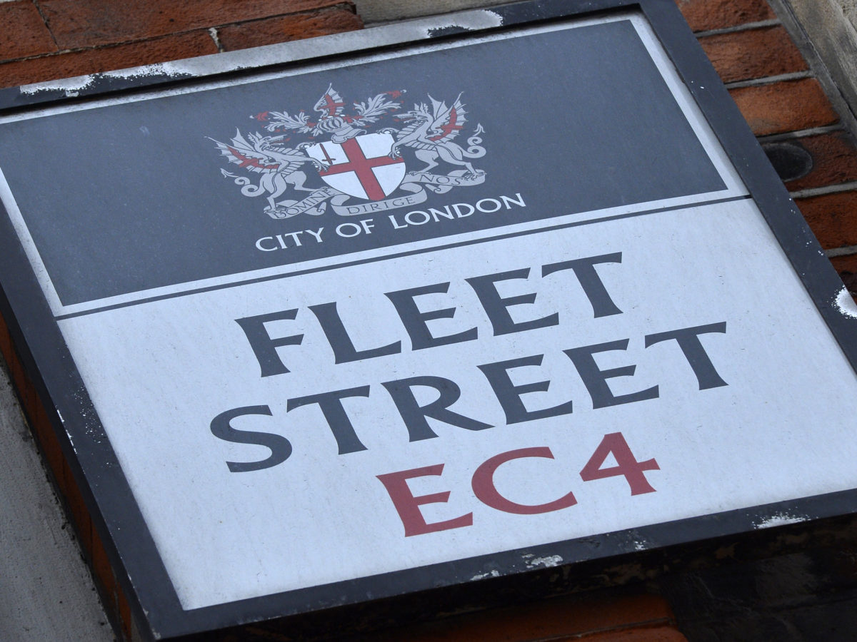 The day the Fleet Street lunch died