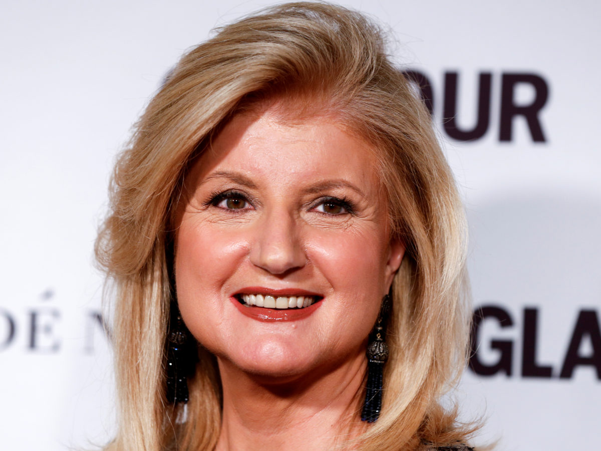 Arianna Huffington steps down as editor-in-chief of Huffington Post