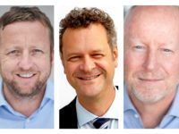 The Mega Agency executive appointments, from left: Paul Tetley, Karlo Pastrovic and David Leigh