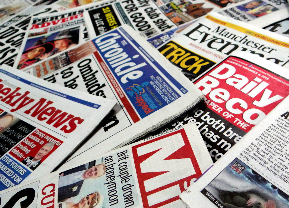Trinity Mirror to rebrand as Reach after Express Newspapers takeover as it reports fall in revenue and profits for 2017