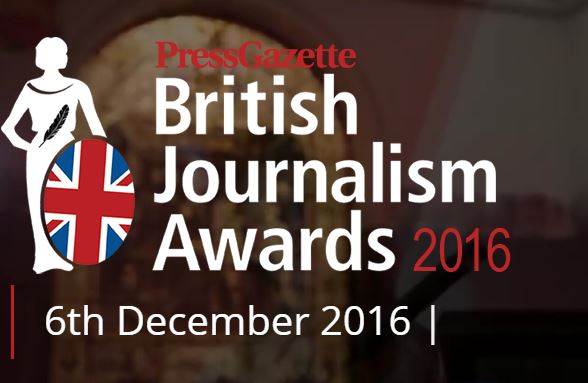 Record 500 entries for British Journalism Awards which are to be broadcast on Local TV network