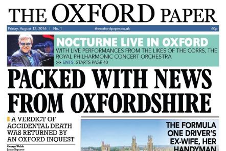 Unexpected death of Taylor Newspapers boss leads to closure of publisher and its three newspapers - Oxford Paper, Oxfordshire Guardian and Basingstoke Observer