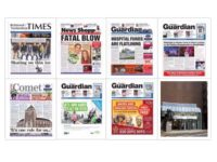 Newsquest South London newspapers COLLAGE