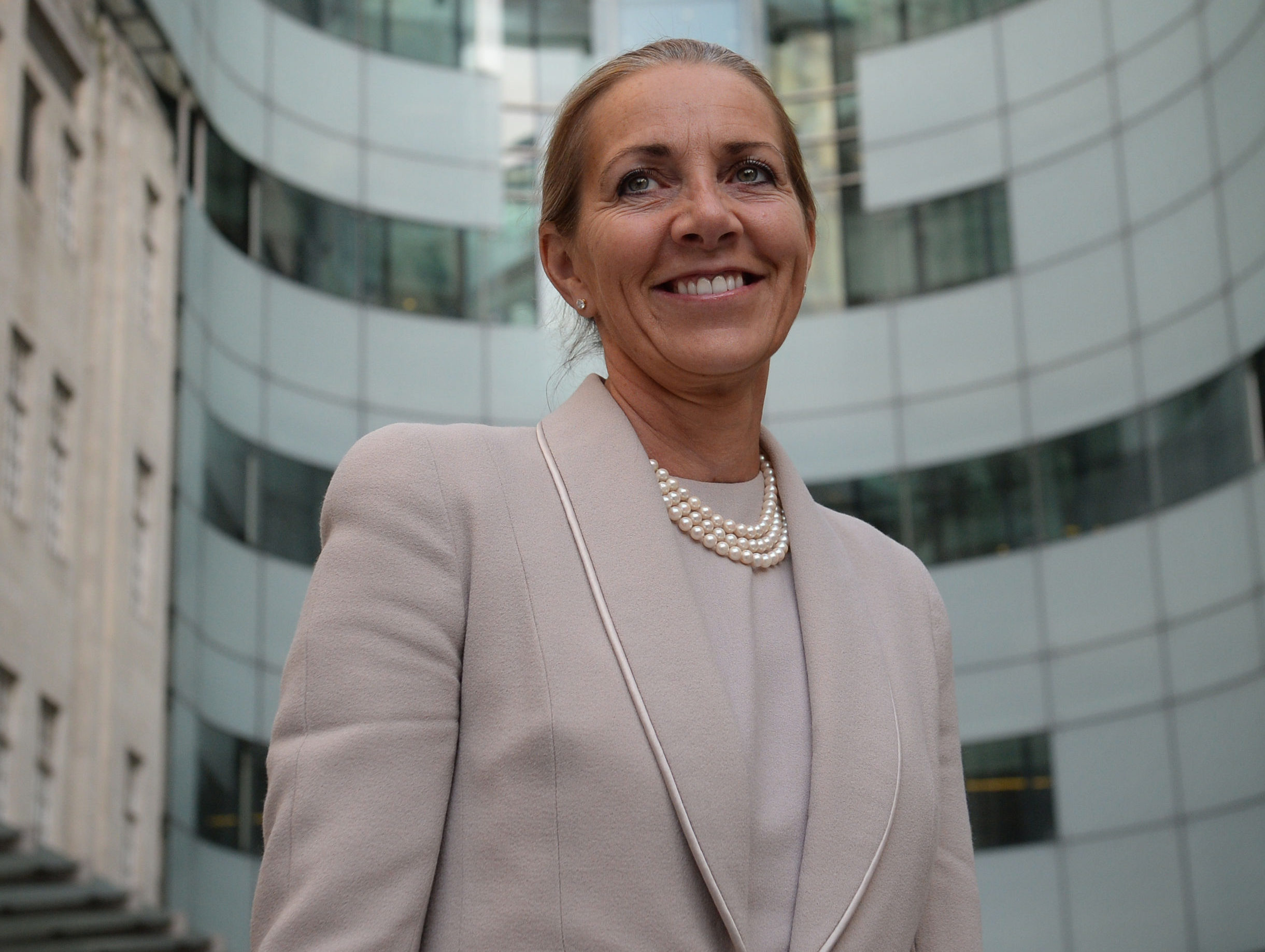 Chairman of the BBC Trust Rona Fairhead is to step down after two years in the role. Picture: Stefan Rousseau/PA Wire