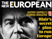The New European front page