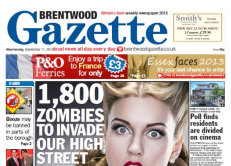 Guest comment: After 97 years in print, Brentwood Gazette is being sacrificed at the altar of digital publishing