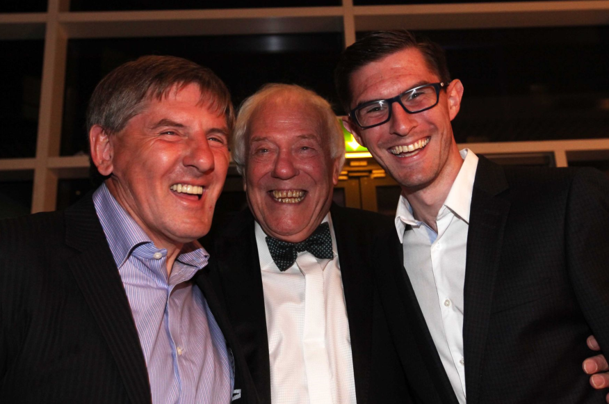 Stars of North East football turn out for charity dinner to mark 50 years at Newcastle Chronicle for 'brilliant storyteller' John Gibson