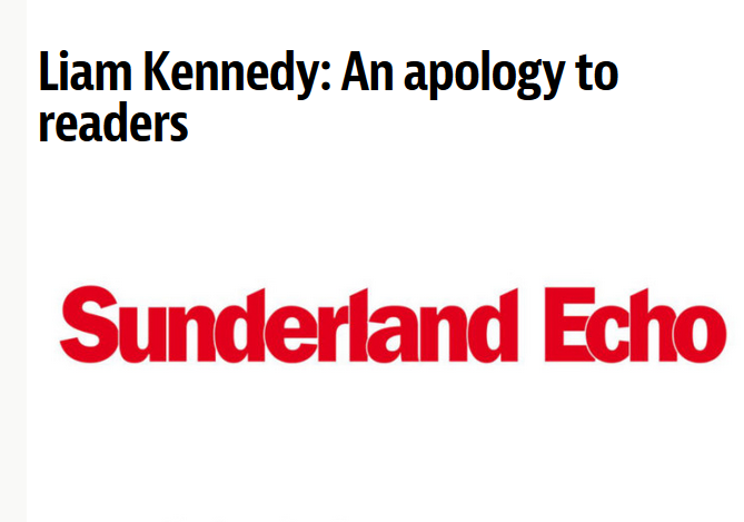 Sunderland Echo reporter moved on by editor after backlash over 'abhorrent' Facebook messages posted six years ago