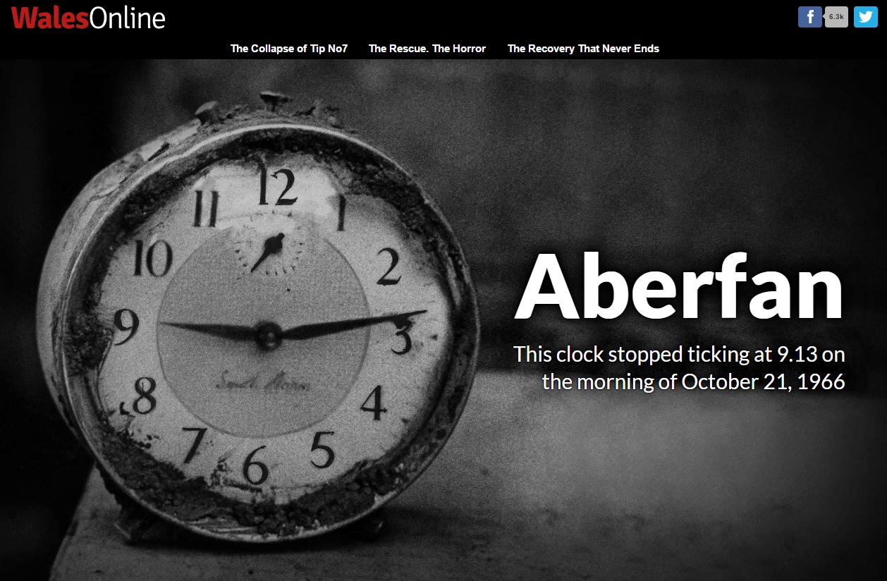 The Aberfan 50th anniversary coverage on Wales Online