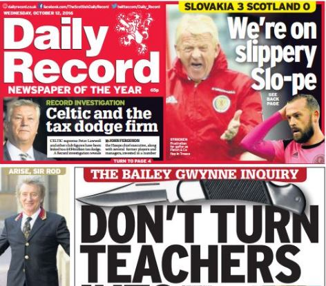 Journalists plan strike ballot over job losses at Daily Record and Sunday Mail