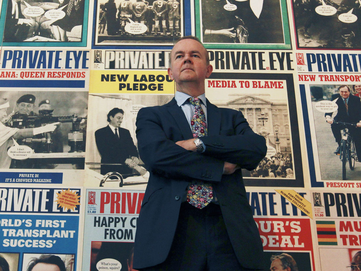 Private Eye hits highest circulation in 55-year history 'which is quite something given that print is meant to be dead'