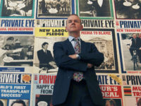 Private Eye editor, Ian Hislop. Picture: Reuters/Olivia Harris