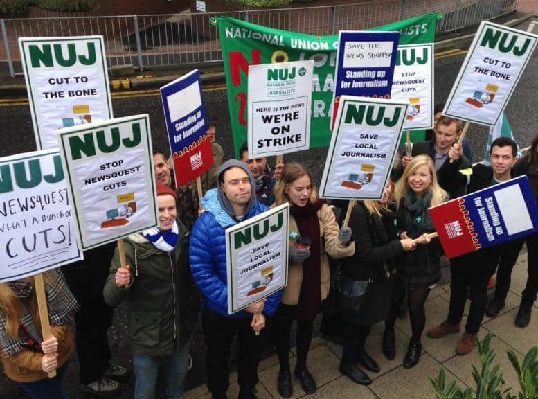 Newsquest south London journalists set to ballot for further strike action