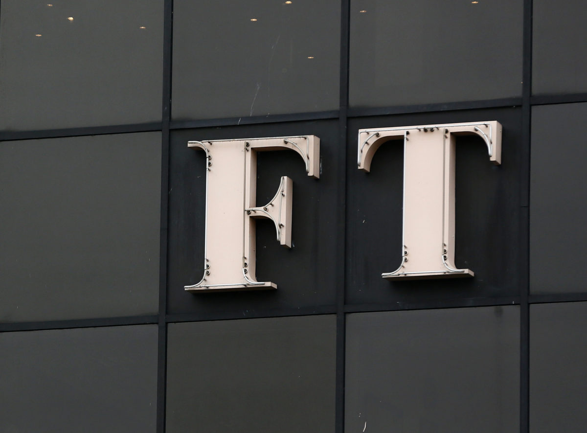 FT says German criminal probe into journalist is 'smokescreen' for alleged fraud at fintech firm reported by paper