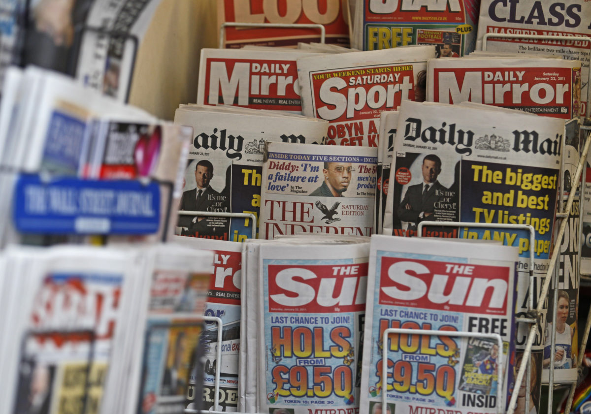 Best-selling UK daily and Sunday newspapers sign up to compulsory arbitration scheme from press regulator IPSO