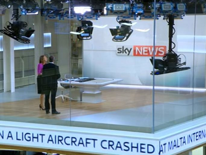 Sky News to broadcast live from newsroom and follow reporter chasing story in day-long project marking 30 years on air