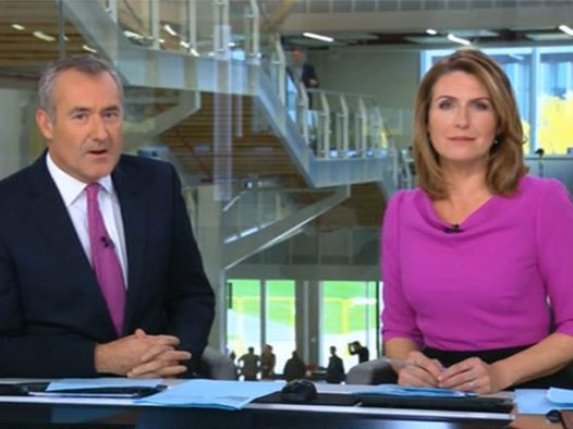 Sky News broadcasts from new studios for first time