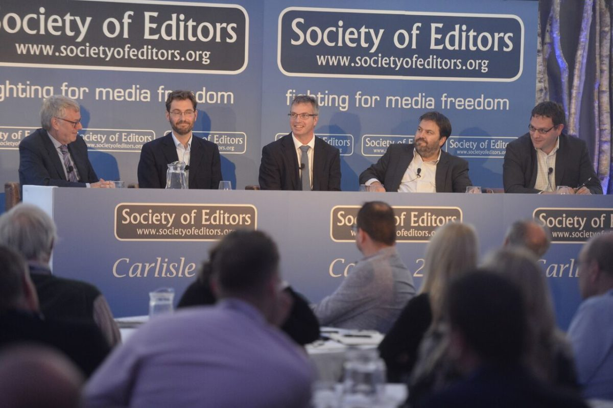 Society of Editors conference: Local democracy reporters paid for by BBC could be in place for May 2017 elections