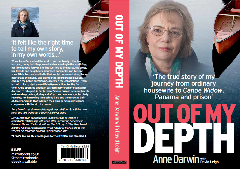 Journalist who secured story of 'canoe wife' Anne Darwin nine years ago follows up with book exclusive