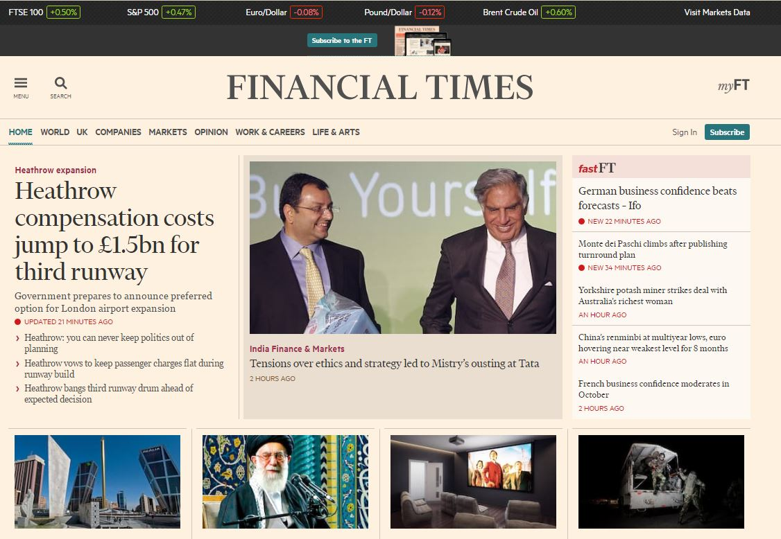 Financial Times experiment sees 40 per cent of readers turn off ad-blockers when asked