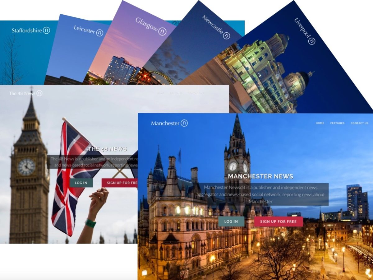 Innovative new publisher launches 50 local digital newspapers across UK and new title focusing on Brexit