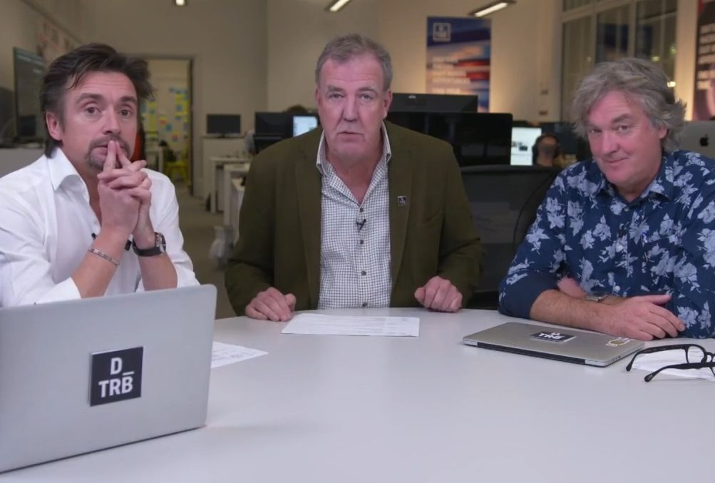 Former Top Gear trio Clarkson, May and Hammond launch 'next generation media platform' Drivetribe