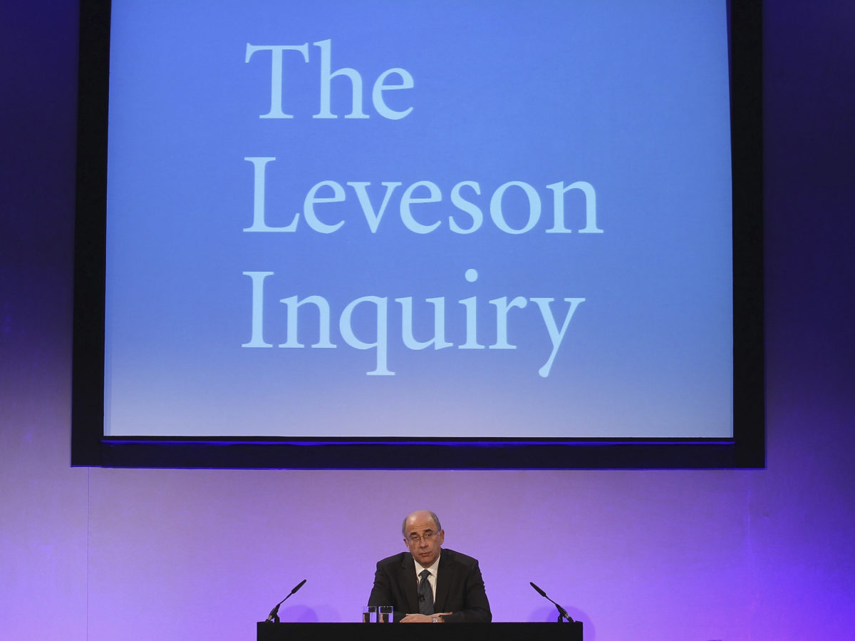 Government closes Leveson Inquiry and pledges to repeal Section 40 laws as it says focus now on 'challenges' facing news industry