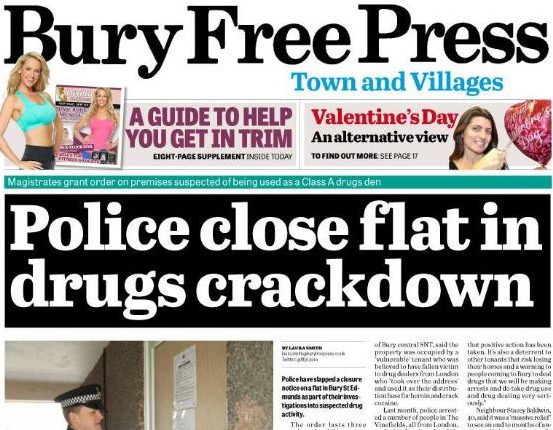 Iliffe Media set to buy 13 local newspaper titles from Johnston Press in £17m deal