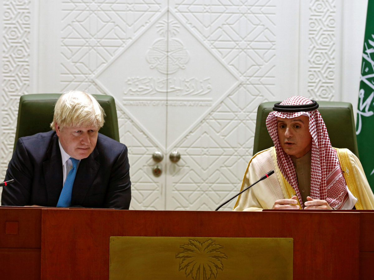 Reporters Without Borders urges Boris Johnson to call for journalist's release during Saudi Arabia visit