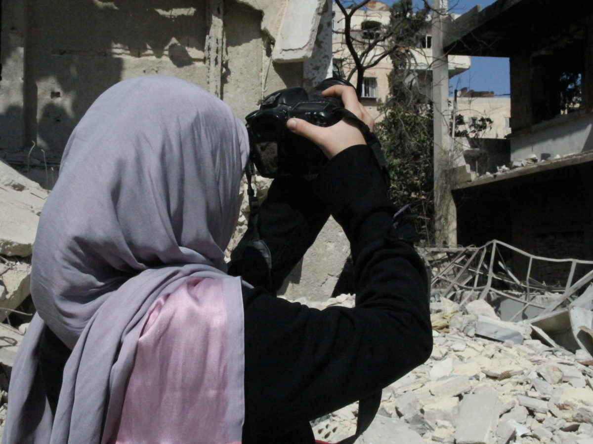 Concern is growing for Channel 4 News journalist Waad Al Kateab as regime forces close in on Aleppo