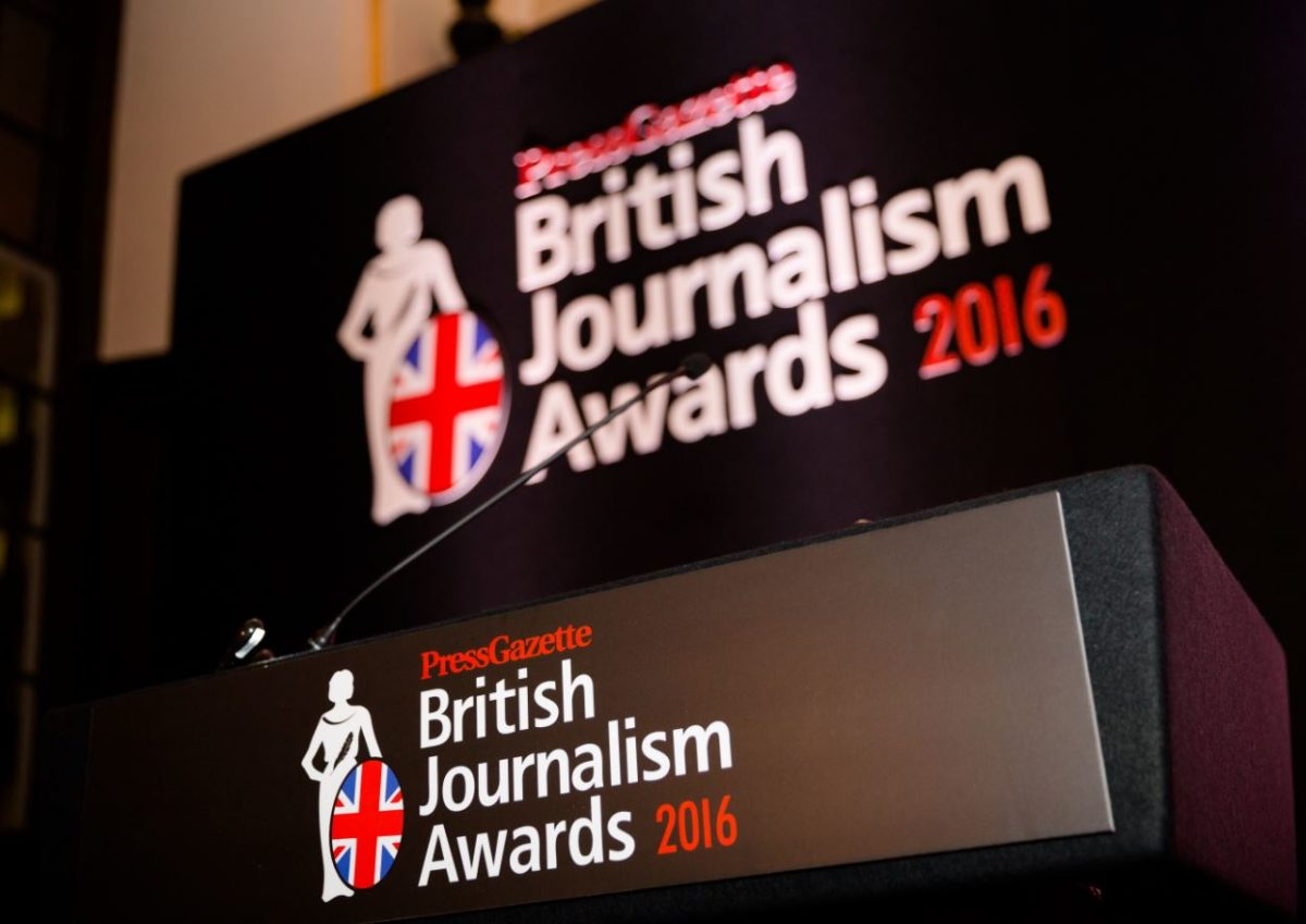 BBC's Laura Kuenssberg named Journalist of the Year: Full list of 2016 British Journalism Awards winners