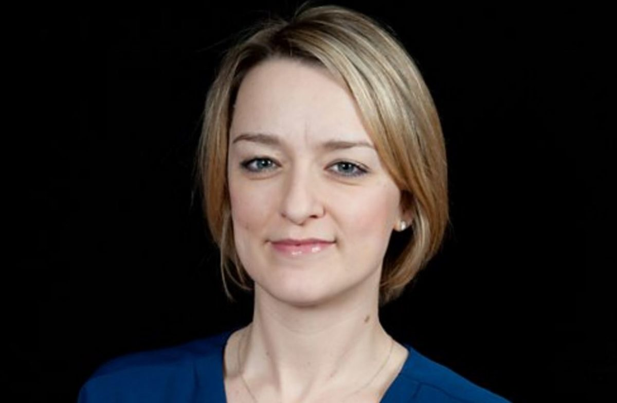 "BBC political editor Laura Kuenssberg says she has considered quitting ""grim"" social media claiming ""it's like a playground"""
