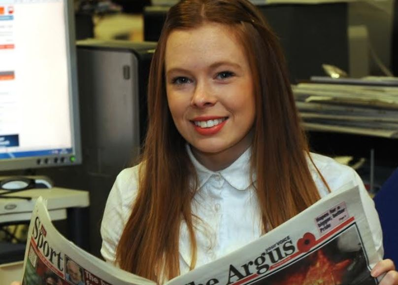 Brighton Argus editor Lucy Pearce hands in resignation weeks after taking over from Mike Gilson