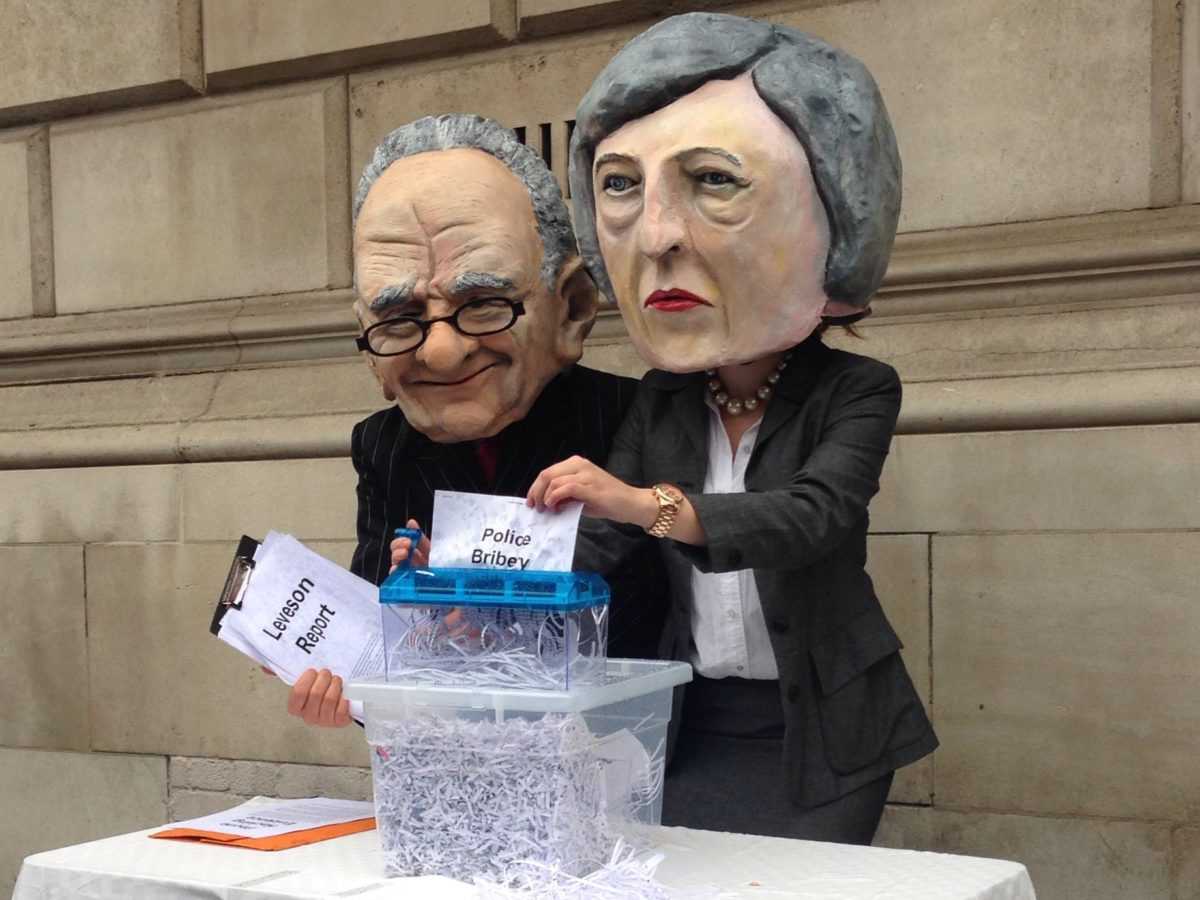 Campaigners deliver 52,000 pages of evidence to DCMS as they demand Section 40 and Leveson two